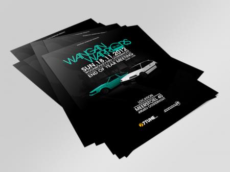 Wangan Warriors End of Year Flyer