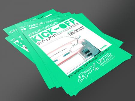 Wangan Warriors Kick-off Flyer